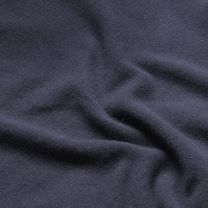 Lambswool V-Neck Jumper - Navy