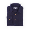 SALE: Navy Linen Men's Shirt