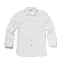 Load image into Gallery viewer, White Linen Shirt