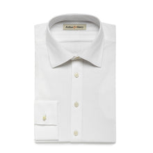 Load image into Gallery viewer, White Herringbone Men's Organic Shirt