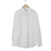 Load image into Gallery viewer, White Men's Fairtrade Organic Oxford Shirt