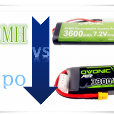NiMH vs Lipo, What 's their pros & cons