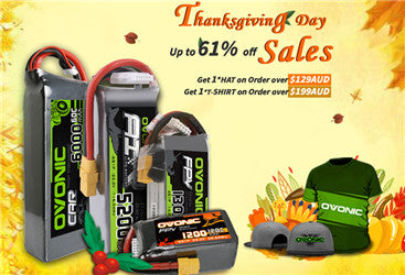 Ovonishop Thanksgiving, Black Friday, Cyber Monday Batteries Super Discount