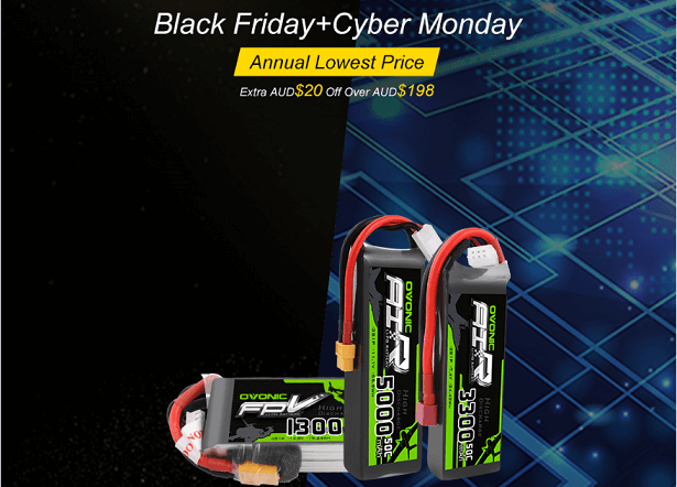 Ovonicshop - Black Friday& Cyber Monday lipo battery big price cuts!