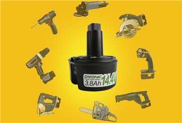 Some  types of battery for cordless electric drills