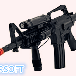 What is airsoft gun and what are the type of airsoft