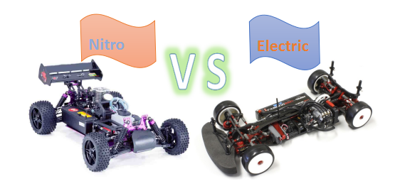 Nitro vs Electric RC car, What's their difference and pros& cons?