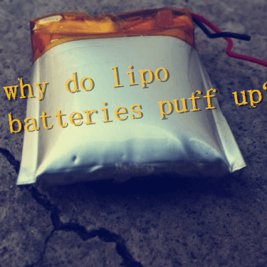 why do lipo batteries puff up?
