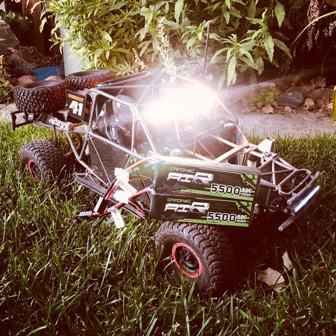 RC car with 5500mah 50C