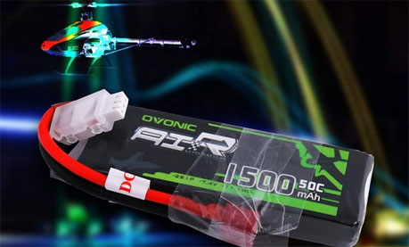 7.4V 1500mAh 2S 50C Lipo Battery Pack
