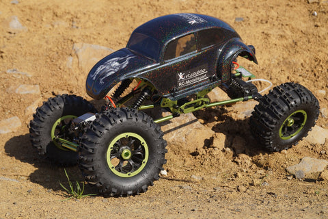RC monster car with full spikes