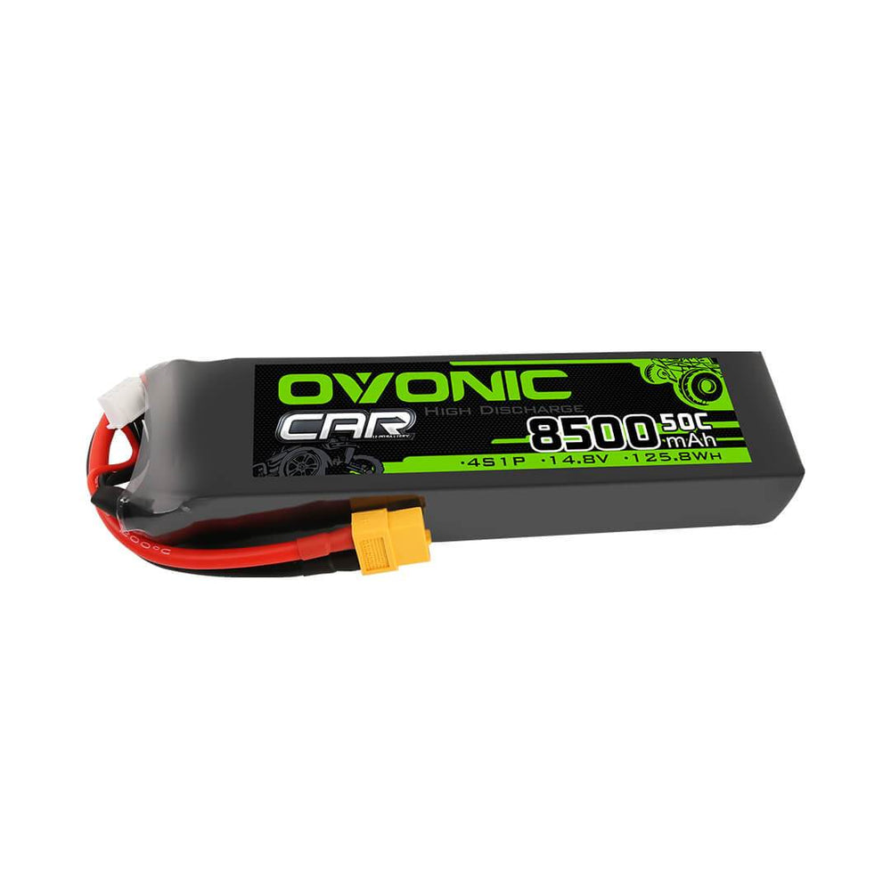 Ovonic 8500mAh 4S 50C 14.8V LiPo Battery for Xmaxx 8S - XT60 Plug