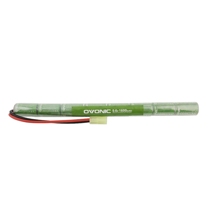 Ovonic 1600mAh 9.6V 8S1P NIMH Stick battery with Mini Tamiya plug for airsoft
