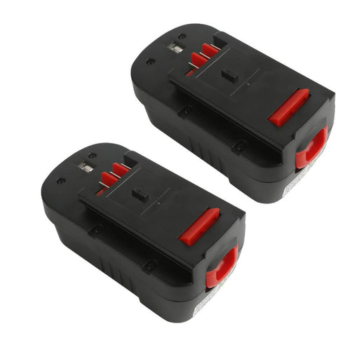 Ovonic 18V 3.8Ah FSB18 HPB18 battery replacement for Black Decker Firestorm (2packs)