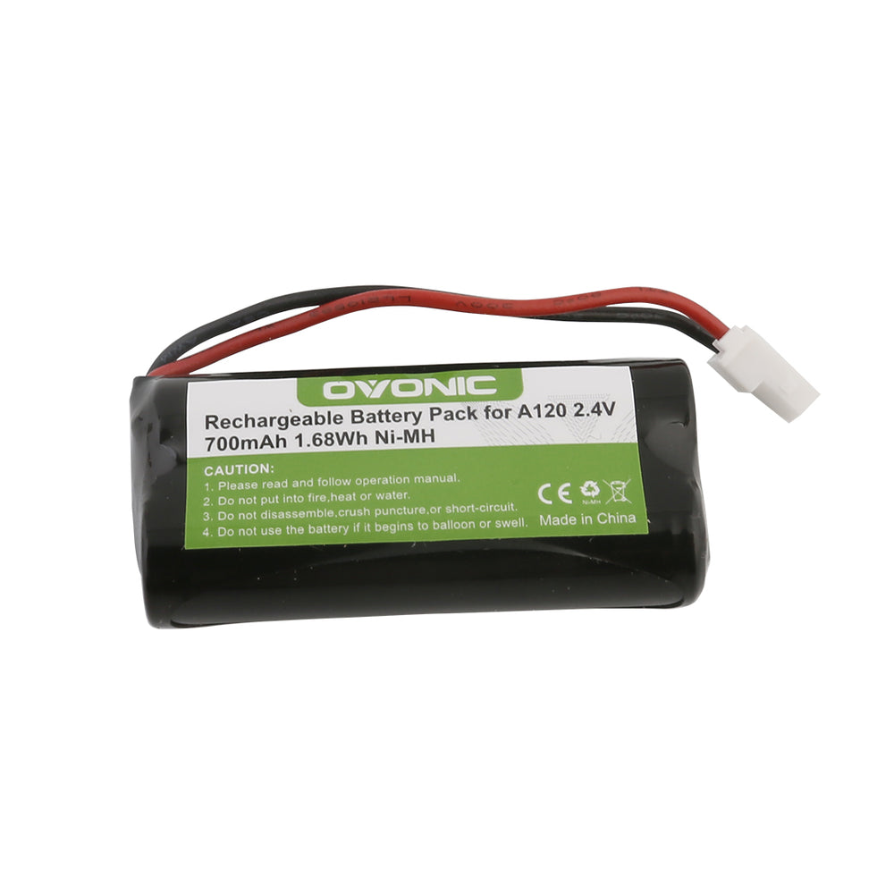 Ovonic 700mAh 2.4V 2S1P NIMH battery with Type 5264 plug for cordless phone - Ovonicshop