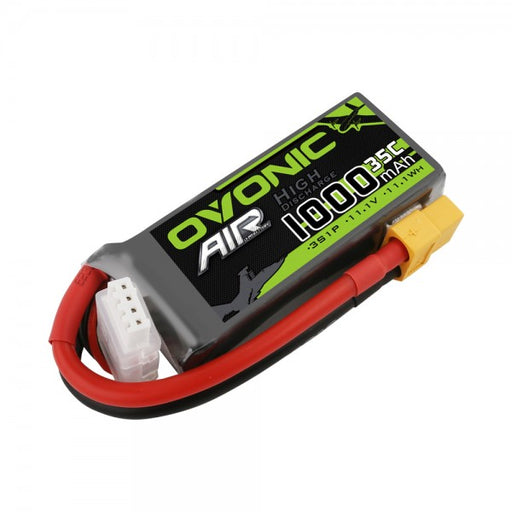 Ovonic 1000mah 3S 11.1V 35C Lipo Battery Pack with XT60 Plug for Airplane&Heli