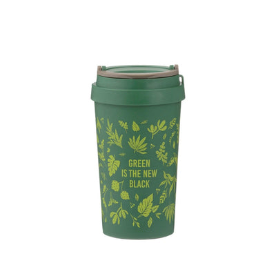 Travel Mug Green Bamboo 380ml