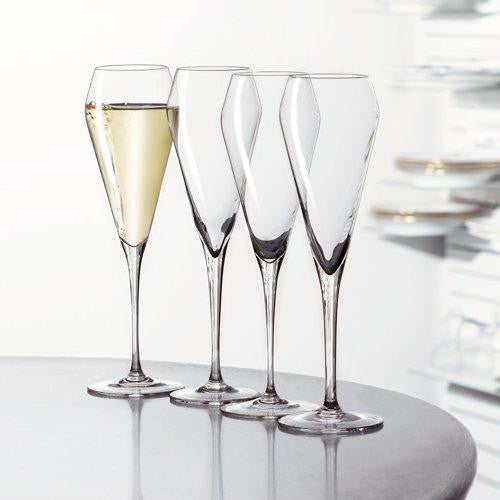 Set 4 Copas Champagne Willsberger Anniversary
