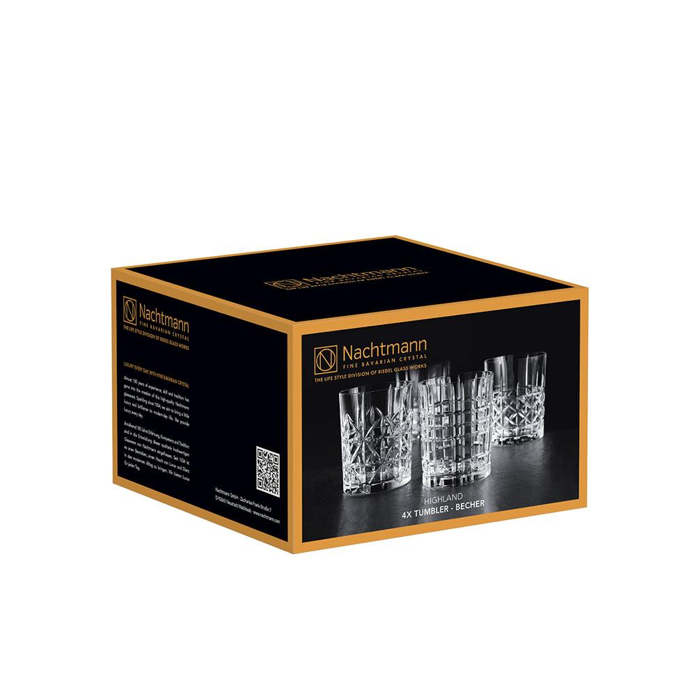 Set 4 Vasos Whisky Highland