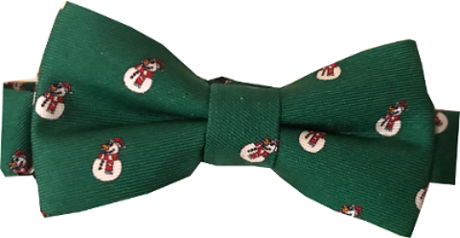 Boys' Let It Snow Bow Tie