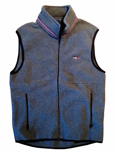 Lazyjack Press Marin County Fleece Vest