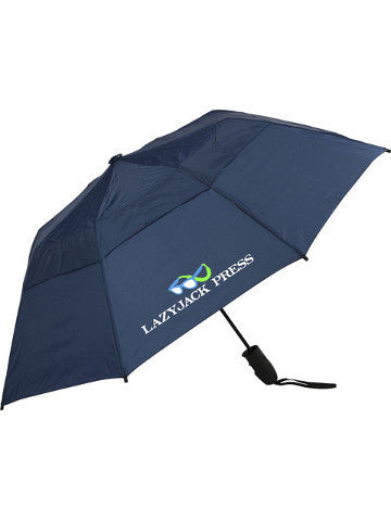 Lazyjack Press Compact Golf Umbrella