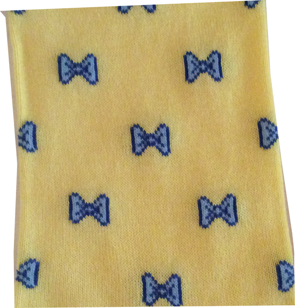 All Tied Up Socks (Yellow)