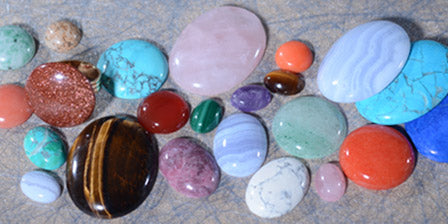 Cabochon Common Size Chart