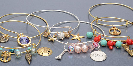 Product Guide: Design Tips for Embellishing Expandable Charm Bangles