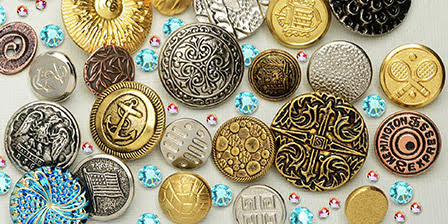 Product Guide: Using Buttons in Beading and Jewelry Making