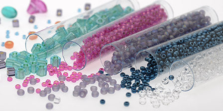 graphic regarding Printable Seed Bead Size Chart called Seed Bead Measurement Chart Beadaholique