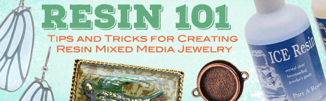 Resin 101: Tips and Tricks for Creating Resin Mixed Media