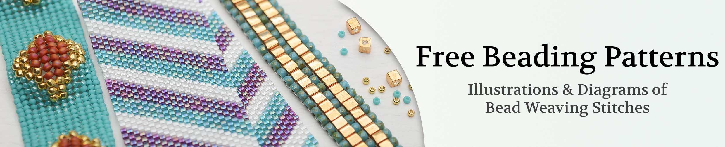 image about Free Printable Bead Loom Patterns called Desk of Contents: Cost-free Beading Designs Beadaholique
