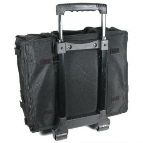 Jewelry Wheeled Carrying Case For 12 Standard Display Trays