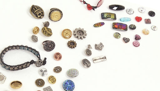 Overview of Buttons for Jewelry Making
