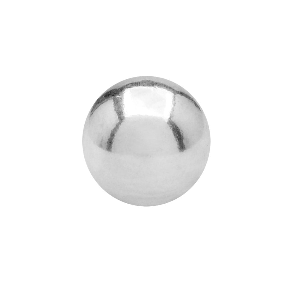 Sterling Silver Replacement Ball End For Screw End Bangle Bracelet 6mm (1)