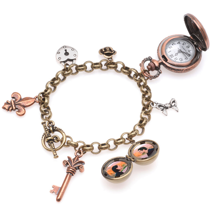 Retired - It's About Time Charm Bracelet Watch
