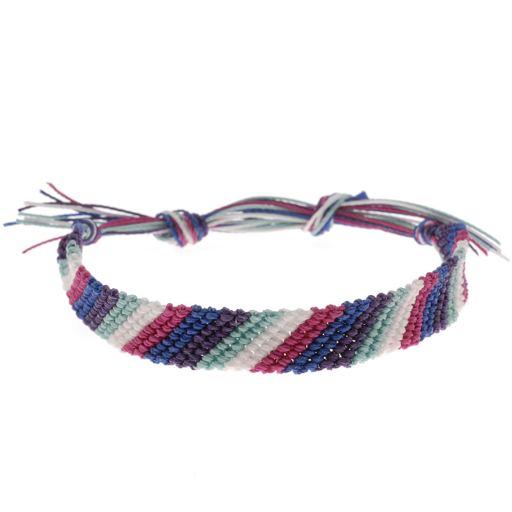 Striped Friendship Bracelet