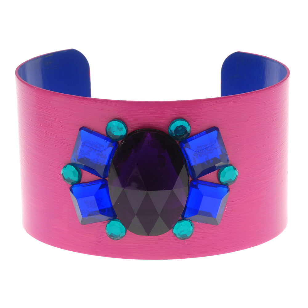 Retired - Carnival Cuff in Pink