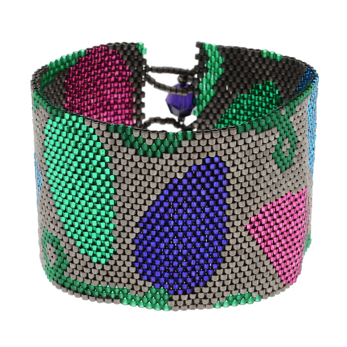 Shimmering Christmas Lights Bracelet