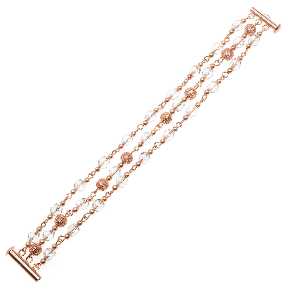 Retired - Rose Gold Elegance Bracelet
