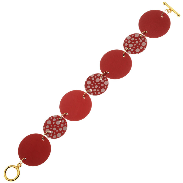 Retired - Reversible Holiday Red Bracelet