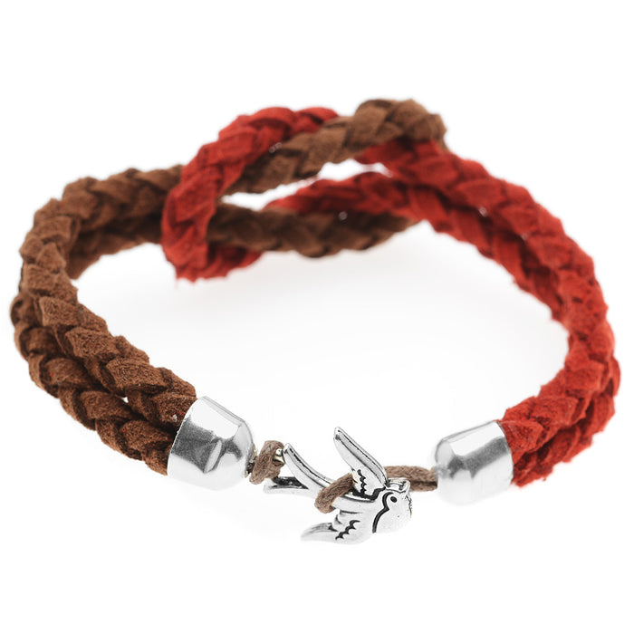 Swallow Bird Braided Bracelet