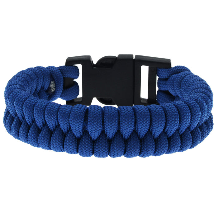 Retired - Blue Fishtail Paracord Bracelet