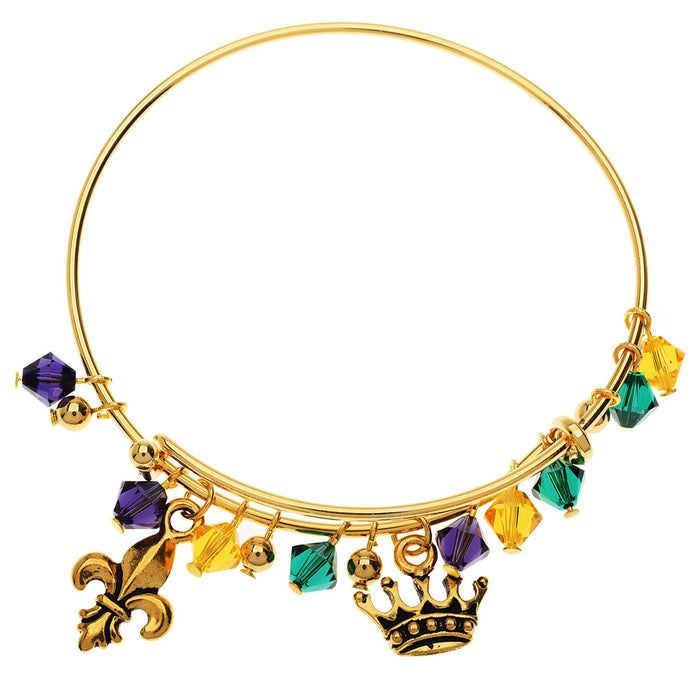 Retired - Mardi Gras Bangle