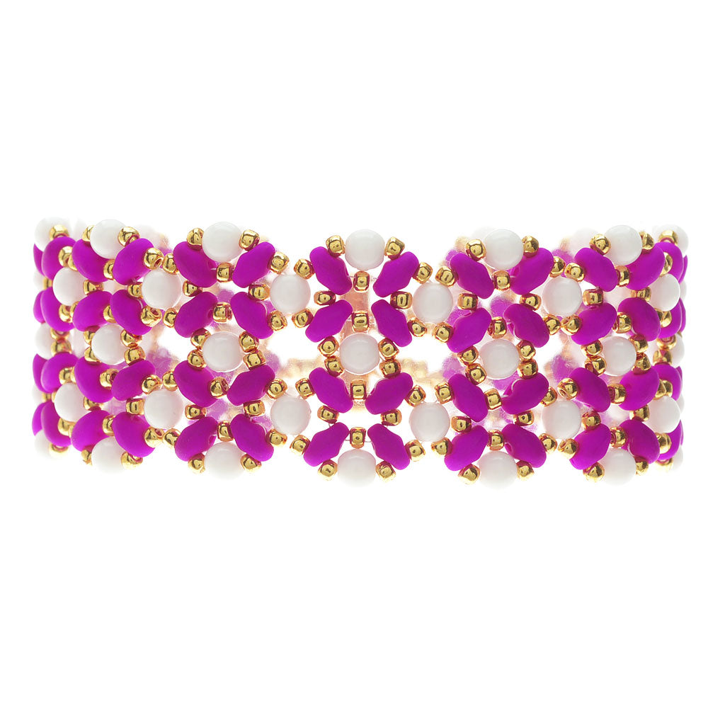 Madison Bracelet in Purple