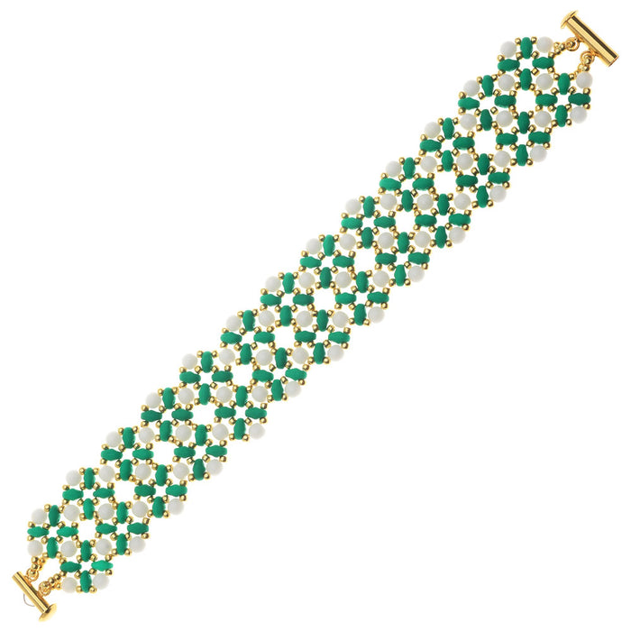 Retired - Madison Bracelet in Green