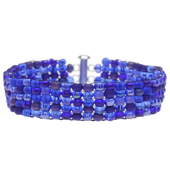 Blue Waters Loom Bracelet