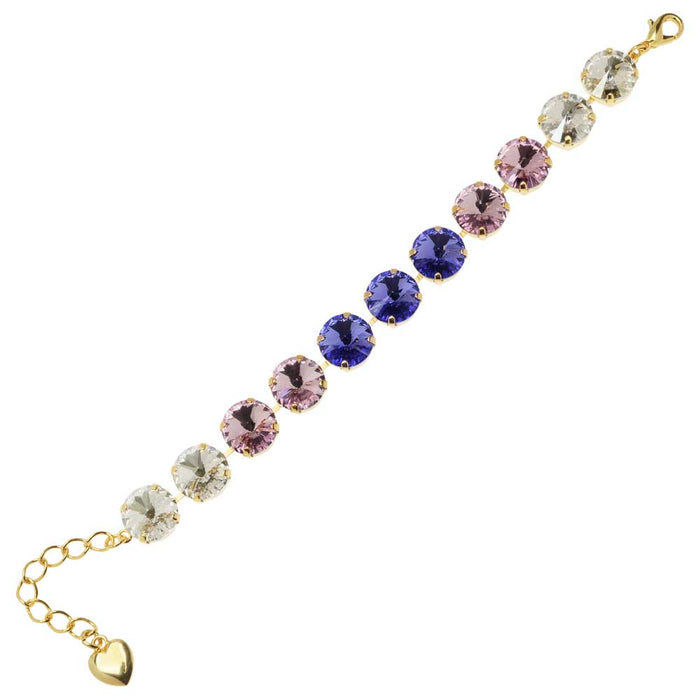 Shades of Purple Bracelet