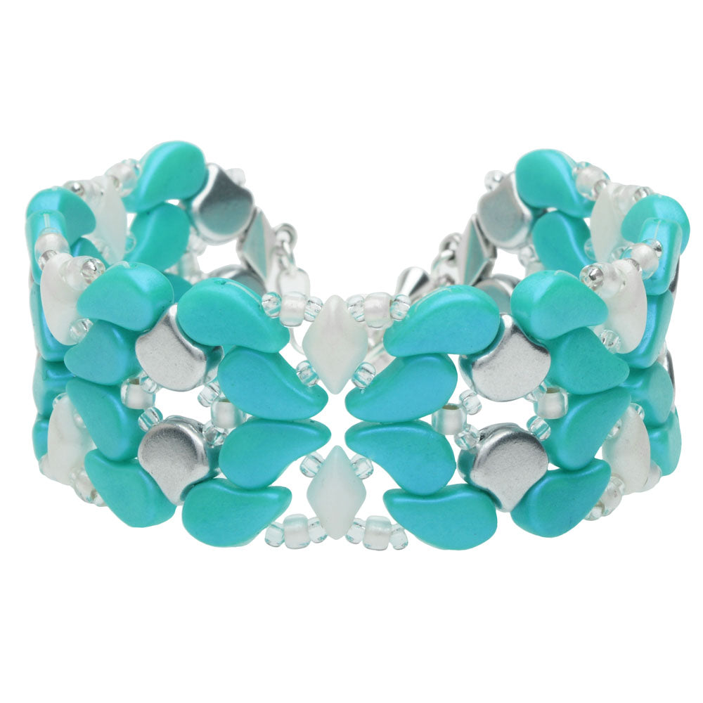 Paisley Princess Bracelet in Tropical Mint